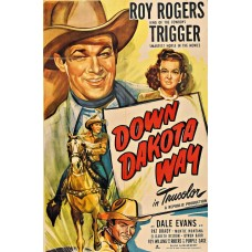 DOWN DAKOTA WAY   (1949) UNCUT COLOR