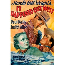 IT HAPPENED OUT WEST  1937