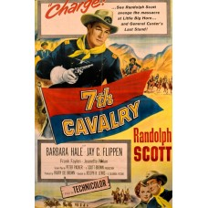 7th CAVALRY (1956) COLOR