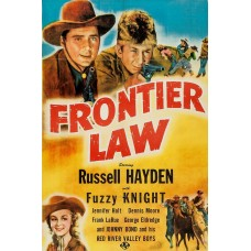 FRONTIER LAW   (1943)
