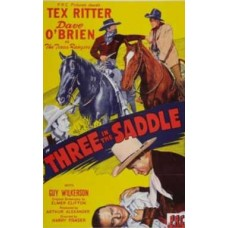 THREE IN THE SADDLE   (1945)